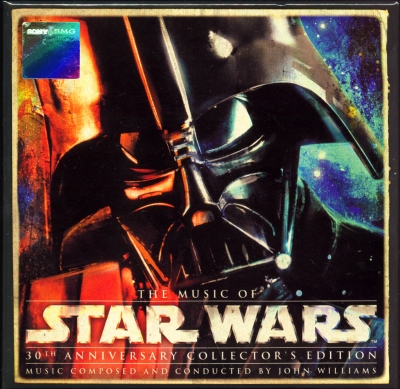 John Williams - The Music of Star Wars (2007) [30th Anniversary Collector's Edition Box Set, 8 CDs]
