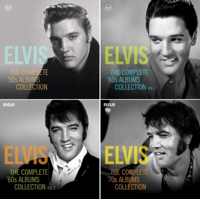 Elvis Presley - The Complete Albums Collection (2015)