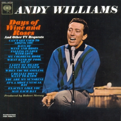 Andy Williams - Days of Wine and Roses and Other TV Requests (1963)
