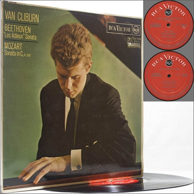 Van Cliburn - Beethoven and Mozart (1967) (Vinyl)