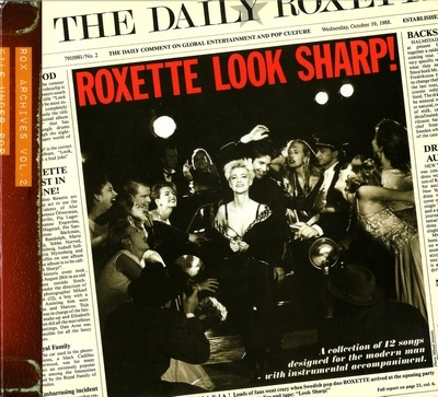 Roxette - Look Sharp! (1988) [Remastered 2009]