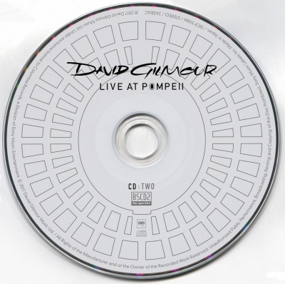 David Gilmour - Live at Pompeii (Deluxe) (2017)