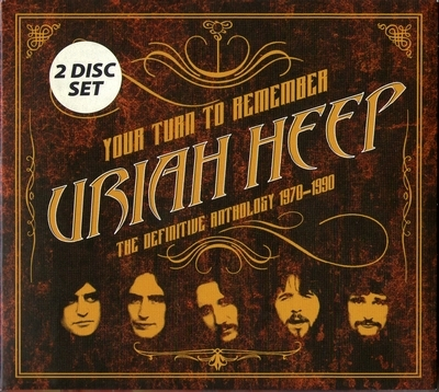 Uriah Heep - Your Turn To Remember: The Definitive Anthology 1970-1990 (2016) [2CD]
