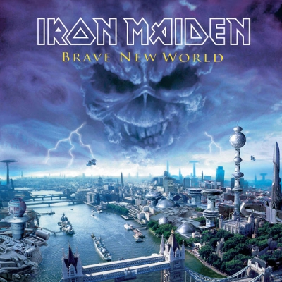 Iron Maiden - Brave New World (2000) [Vinyl-Rip, 24Bit/192kHz]
