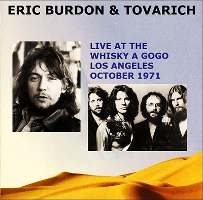 Eric Burdon & Jimmy Witherspoon (1971) Whiskey A Go Go, West Hollywood, CA
