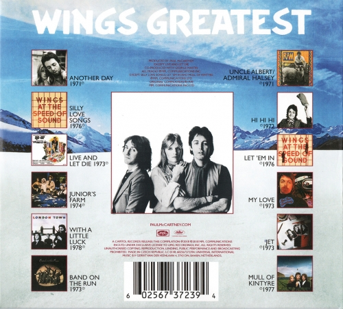 Paul McCartney & Wings - Wings Greatest (1978) [2018]