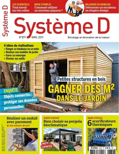 Systeme D №879 (Avril 2019)