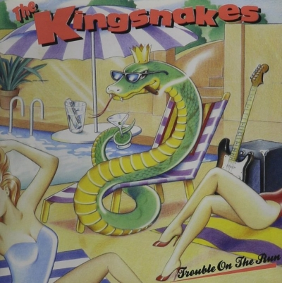The Kingsnakes - Trouble On The Run (1990)