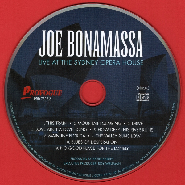 Joe Bonamassa - Live At The Sydney Opera House (2019)
